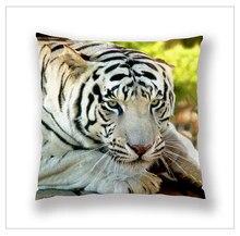 Новый год подарки для дома высокого качества и HD печати тигр и собака декоративные диван чехлы наволочка