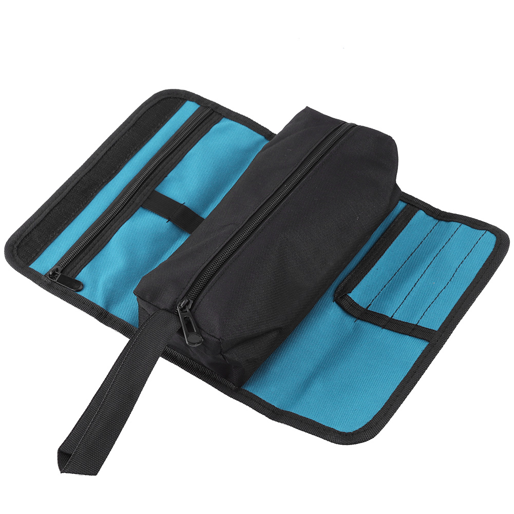 Foldable Professional Electricians Tool Storage Holder Roll Bag Convenient Organizer Tool Bag  Waterproof Oxford Pouch Bag