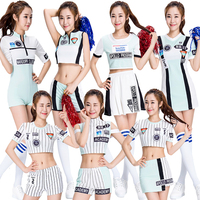 Girls Cheerleader Outfit Short Women Role Play Bodysuit Sexy Japanese One Piece Costume Sports Romper Suits