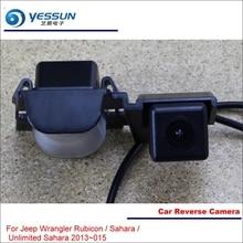 цена на Car Reverse Camera For Jeep Wrangler Rubicon / Sahara / Unlimited Sahara 2013~2015Rear View Back Up Parking Reversing Camera