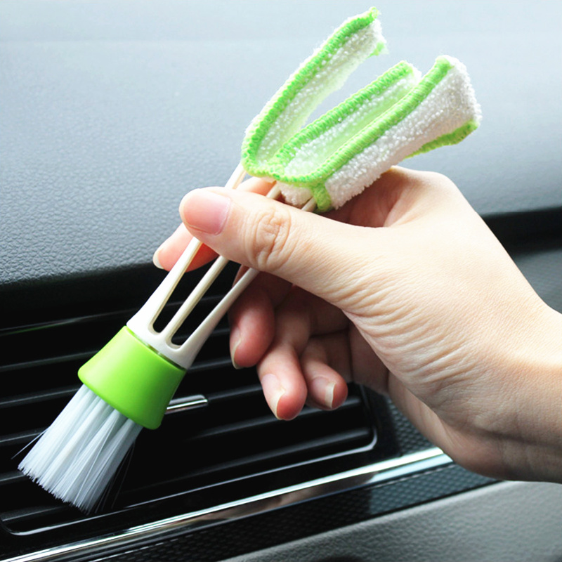 Car styling cleaning Brush tools <font><b>Accessories</b></font> <font><b>for</b></font> Volkswagen <font><b>VW</b></font> <font><b>Golf</b></font> 4 <font><b>6</b></font> 7 <font><b>GTI</b></font> Tiguan Passat B5 B6 B7 CC image
