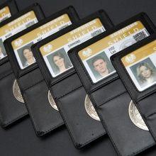 Мстители Агенты S. H. L. E. L. D щит значок в кожаный бумажник или держатель