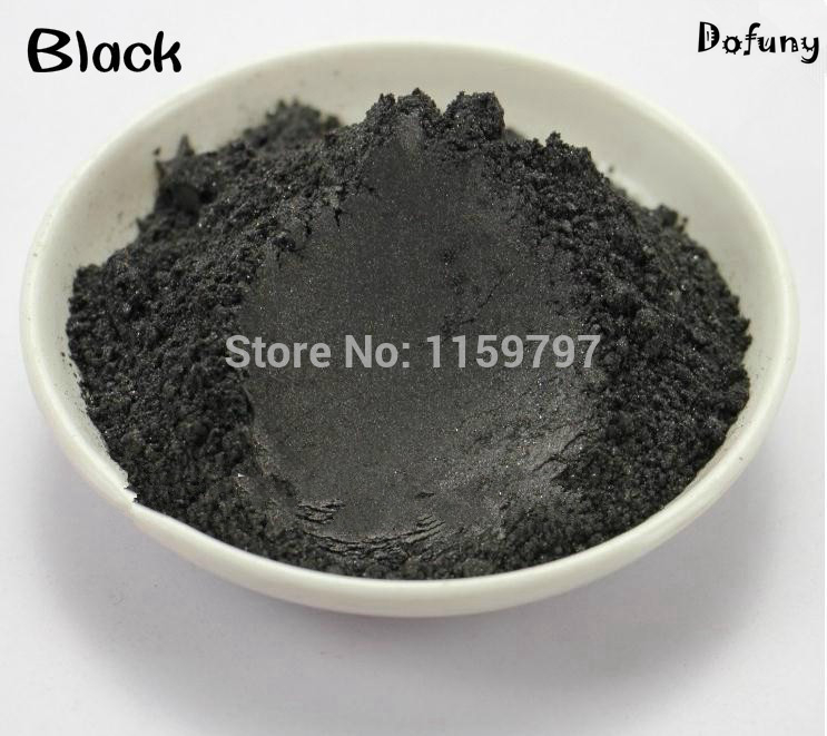 500g/bag High Quality Pearl Powder Black Color Mica powder Pigment Glitter Pearlescent Powder For DIY Decoration. high quality water soluble dha powder