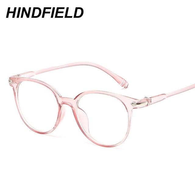 Korean Fashion Clear Glasses Frame Anti Blue Light Glasses Women ...