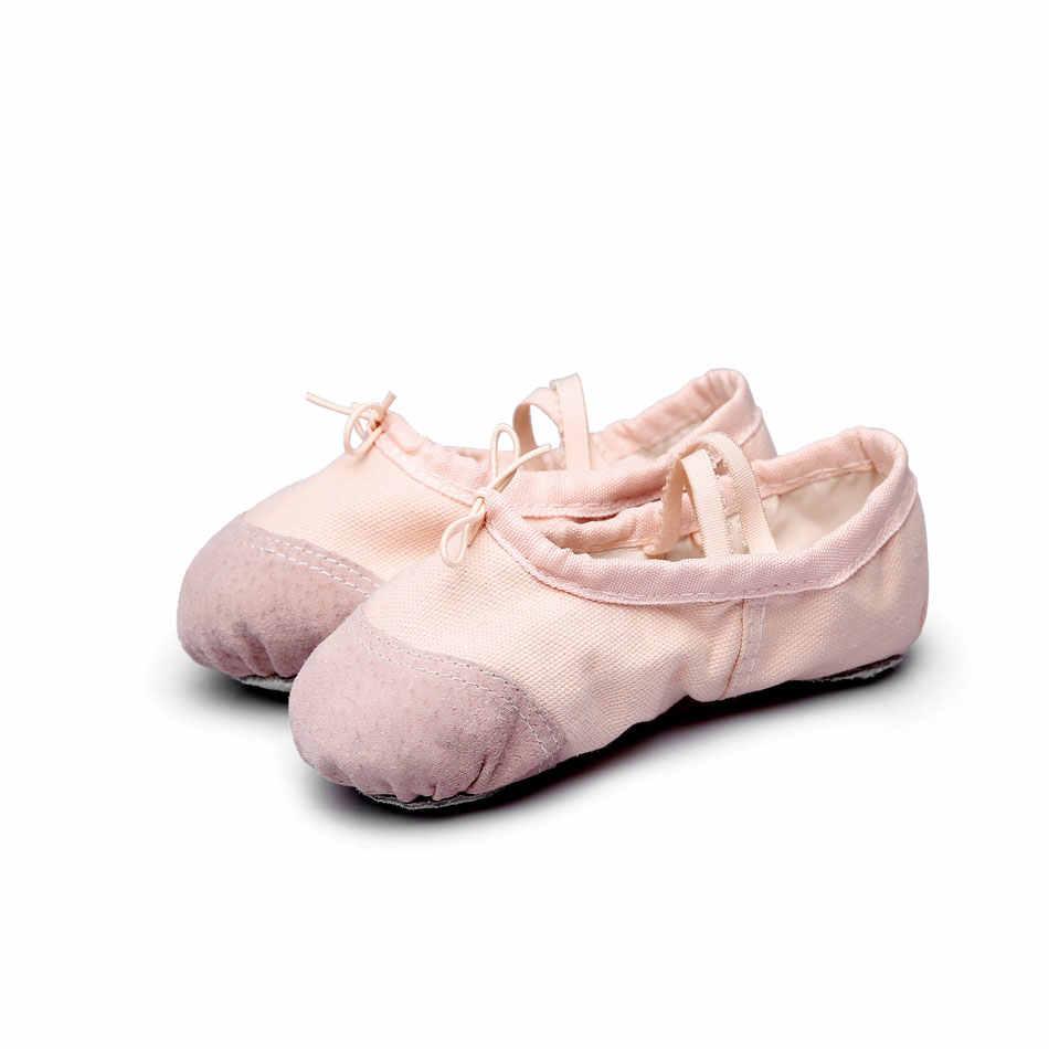 0a30c853f ... MSMAX B106 Children Ballet Dance Shoes Girls Latin Ballet Slippers  Indoor Ballroom Shoes Girls Flat Heeled ...