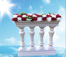 4pcsNew Wedding Plastic Fence Rome Column European Road Projects for and Celebration Goods