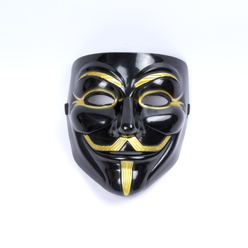 1Pcs V for Vendetta Mask Anonymous Guy Halloween Mask Masquerade Mask Adult Party Masks Mascara de Halloween 1