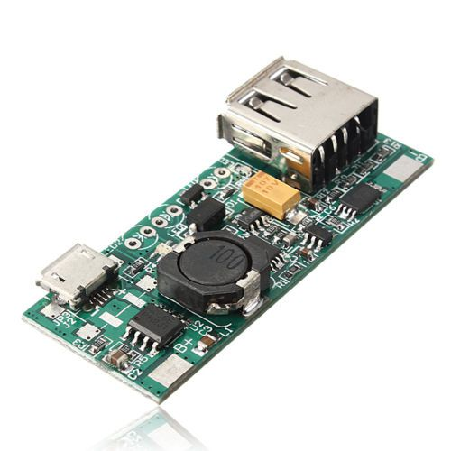 3 7V Li ion Battery Mini USB to USB A Power Apply Module 5V 1A Charge Module in Chargers from Consumer Electronics
