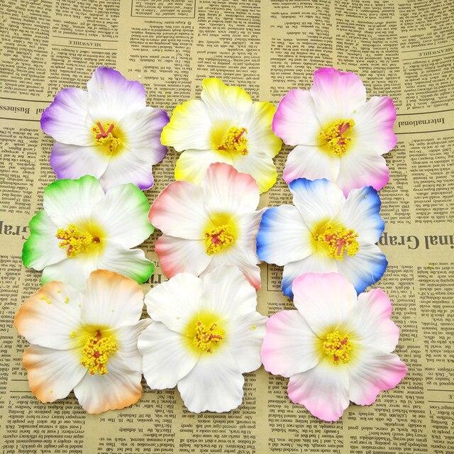 HappyKiss 20PCS9cm Wholesale Plumeria Hawaiian Foam Frangipani ...