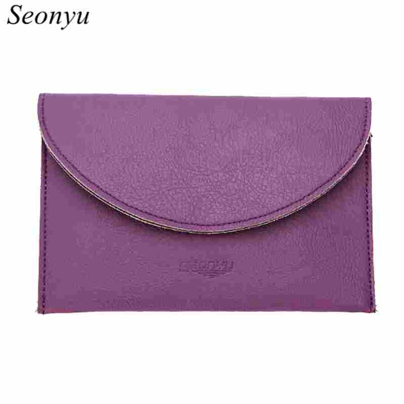 Seonyu wallet women passport wallet document holder business card seonyu wallet women passport wallet document holder business card case make up organizer travelling passport covers purse 5100 in card id holders from colourmoves Images