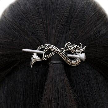 Norse Dragon Hairpin