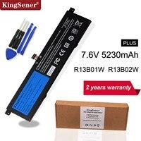 Kingsener 7.6V 5230mAh New R13B01W R13B02W Laptop Battery For Xiaomi Mi Air 13.3 Series Tablet PC 39WH