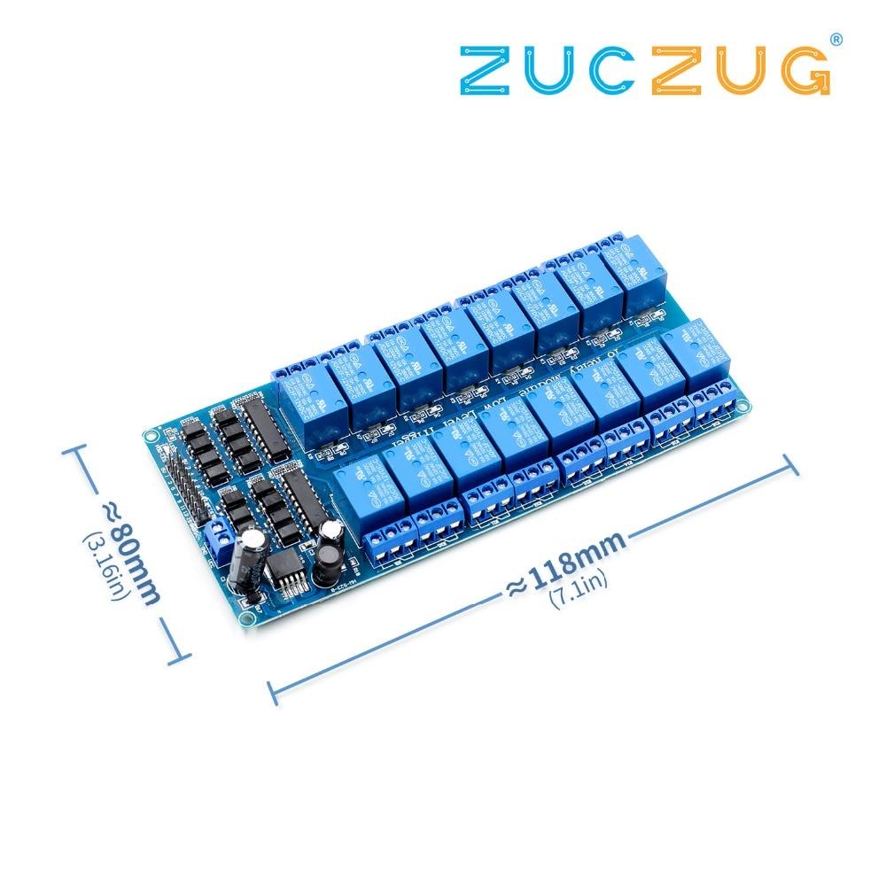 4-Kanal-Solid State Relais Modul Für Arduino UNO MEGA 2560 R3 AVR Raspberry PI