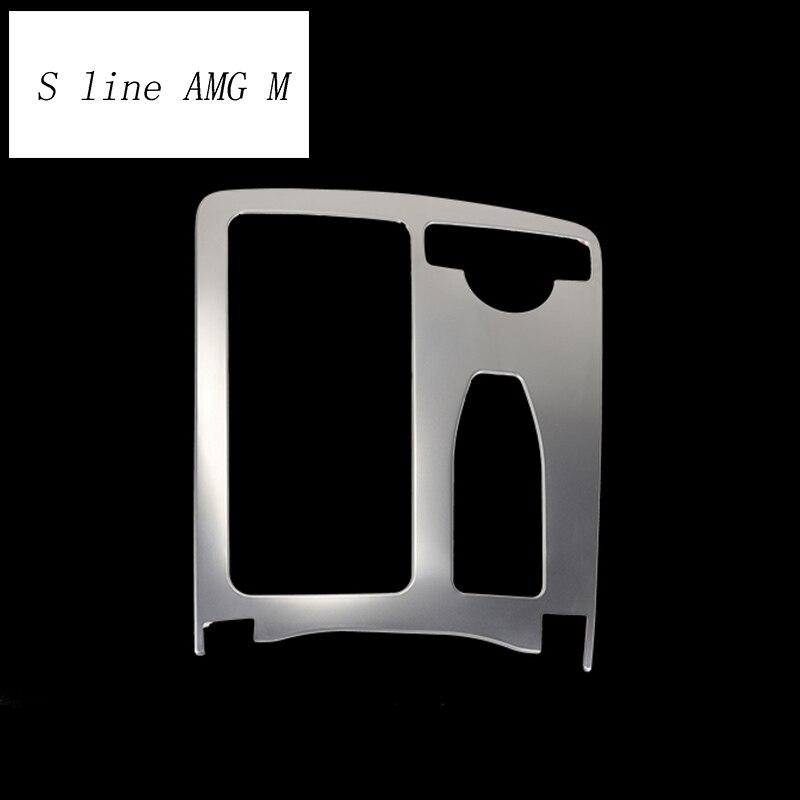 Für Mercedes Benz W204 W212 C Klasse E klasse Coupe RHD LHD Innen Wasser Tasse Halter abdeckung Aufkleber Panel Rahmen trim Auto Styling