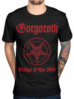 Gorgoroth Twilight Of The Idols T Shirt Men Gift Casual Gift Tee USA Ize S 3xl