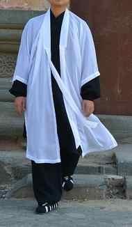 5 colores unisex los monjes taoístas prendas de vestir de alta calidad manto practicar tai chi rendimiento artes marciales kung fuveil el Taoísmo trajes