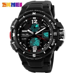 Image 2 - 2019 SKMEI G Style Fashion Digital Watch Mens Sports Watches Army Military Wristwatch Erkek Saat Shock Resist Clock Quartz Watch