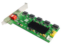 1:5 (5×1) Interno SATA II Multiplicador de Porta (PM), suporte De Montagem, fácil Configuração RAID Raid IO-JMB393-5IR Inteligente do Interruptor Dip