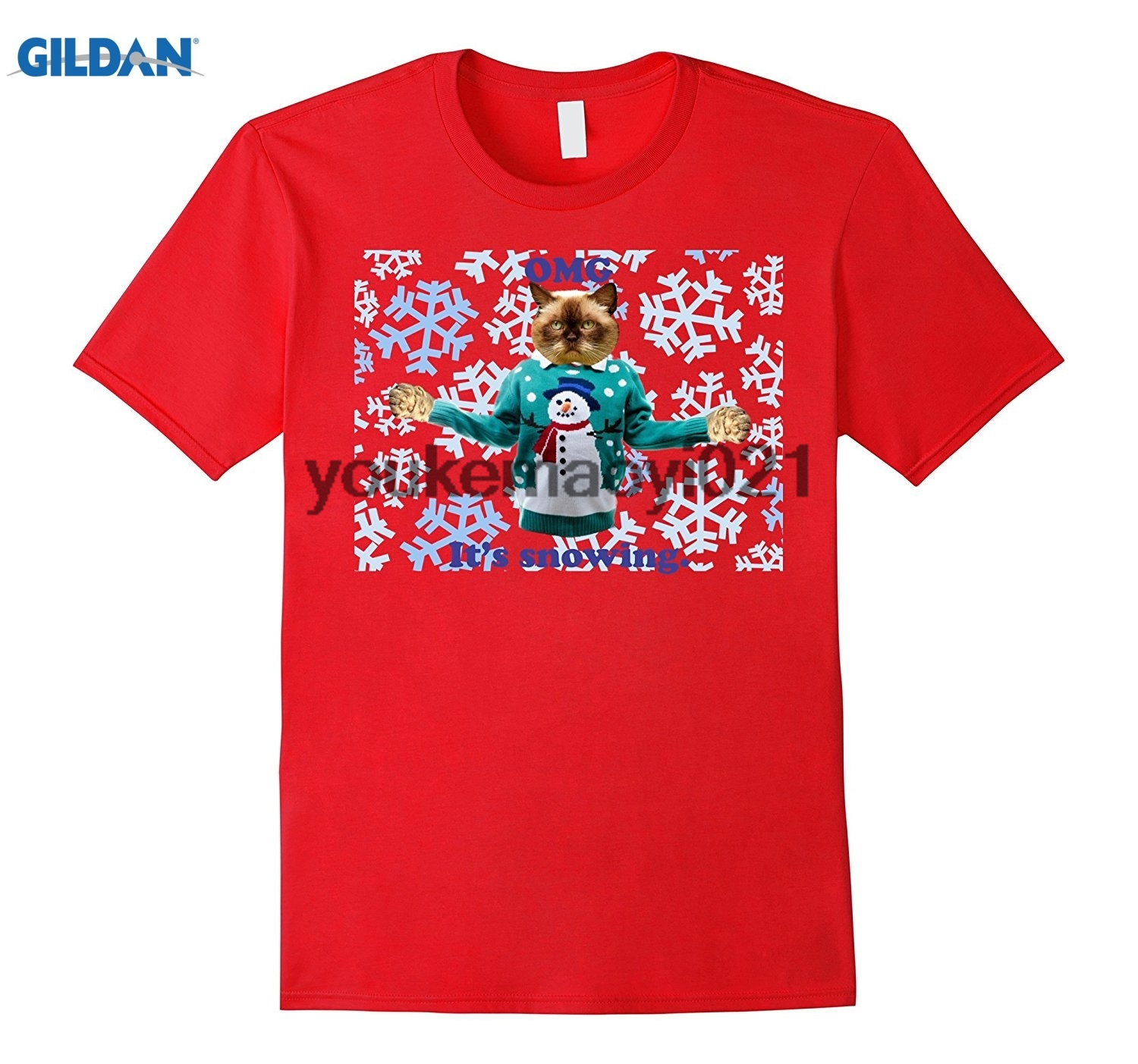 GILDAN Grumpy Christmas Sweater Funny T-shirt