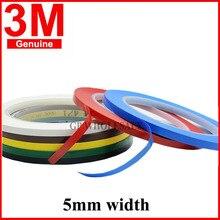 3M 471 Премиум perfomance сильная виниловая лента длина 3 3M Набор для украшения, маскировка 5 мм желтый черный синий белый красный зеленый