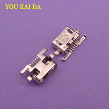 1 pcs Voor Lenovo Vibe A7020 K52t38 K52e78 K5 Note K5Note micro mini USB jack socket Poort opladen Dock vervanging connector(China)