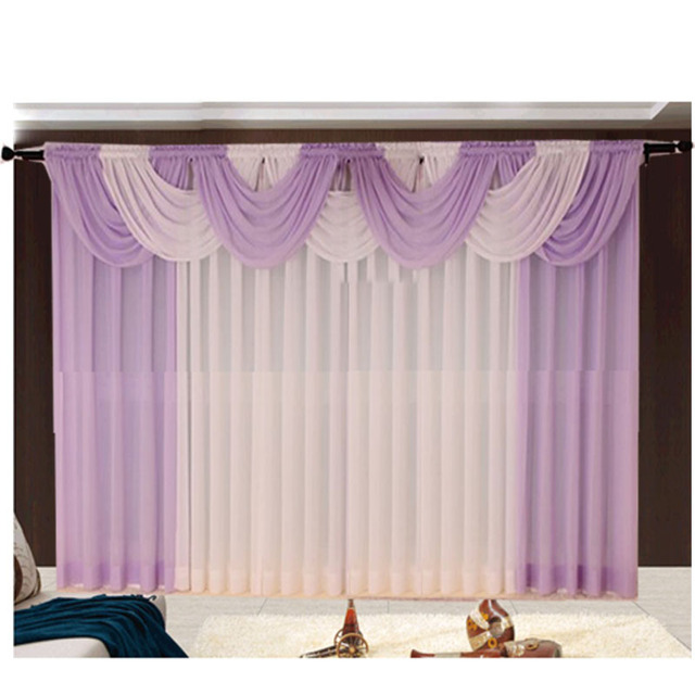 Volant vorhänge küche marke modernen schiere tüll cortinas für ...