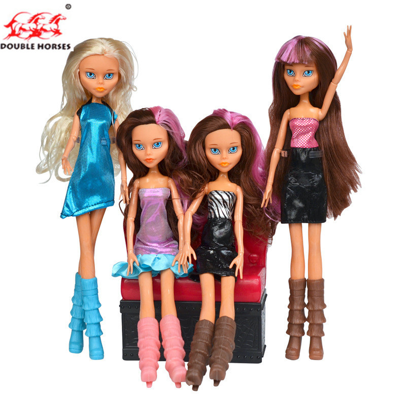 New style Monster Doll 28CM Heigh Quality Monster Draculaura hight Moveable Joint Doll Different Style Fashion Doll girl Toys ...