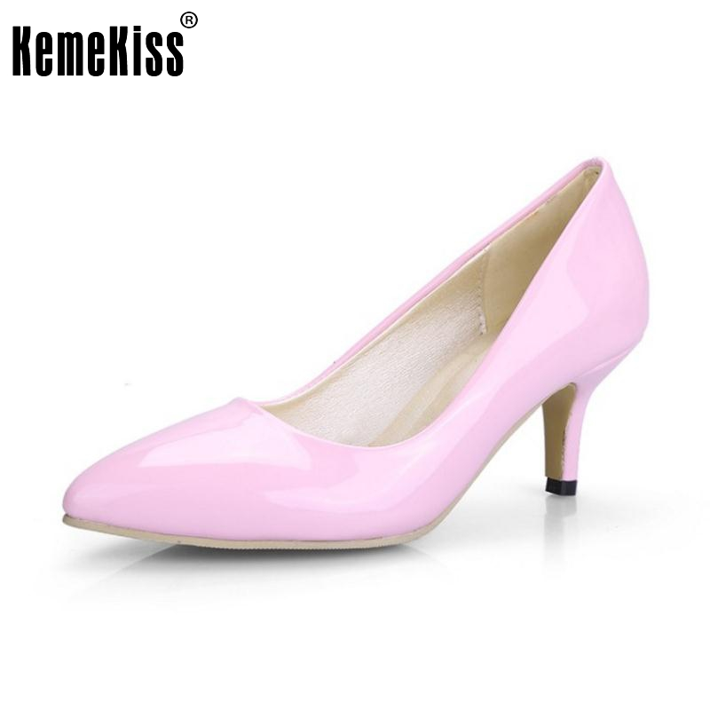 Plus Size 31-48 Fashion 9 Colors Women Thin High Heel Shoes Ladies Sexy Pointed Toe Women Heeled Pumps Casual Dating Shoes Women new 2017 spring summer women shoes pointed toe high quality brand fashion womens flats ladies plus size 41 sweet flock t179
