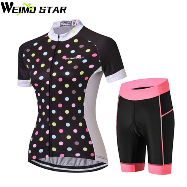 e111157c0 WEIMOSTAR Summer Women s Short Sleeve Ropa Ciclismo Cycling Jersey Set MTB Bike  Bicycle Road Riding Clothing