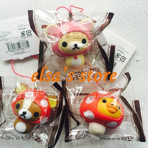 Rare Squishy Package : squishies wholesale 10pcs mixed squishy lot kawaii rare mushroom rilakkuma squishy toy with ...