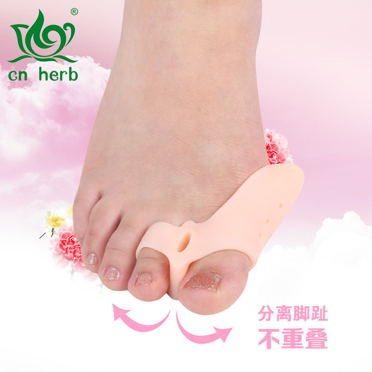 Cn Herb To Correct The Thumb Soft Pad Big Toe Hallux Valgus Correction Device Toes Big Feet in Massage Relaxation from Beauty Health