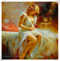 Lovers nude oil painting Sexy wall art oil painting Nude women Oil painting on canvas hight Quality Hand painted Painting 29