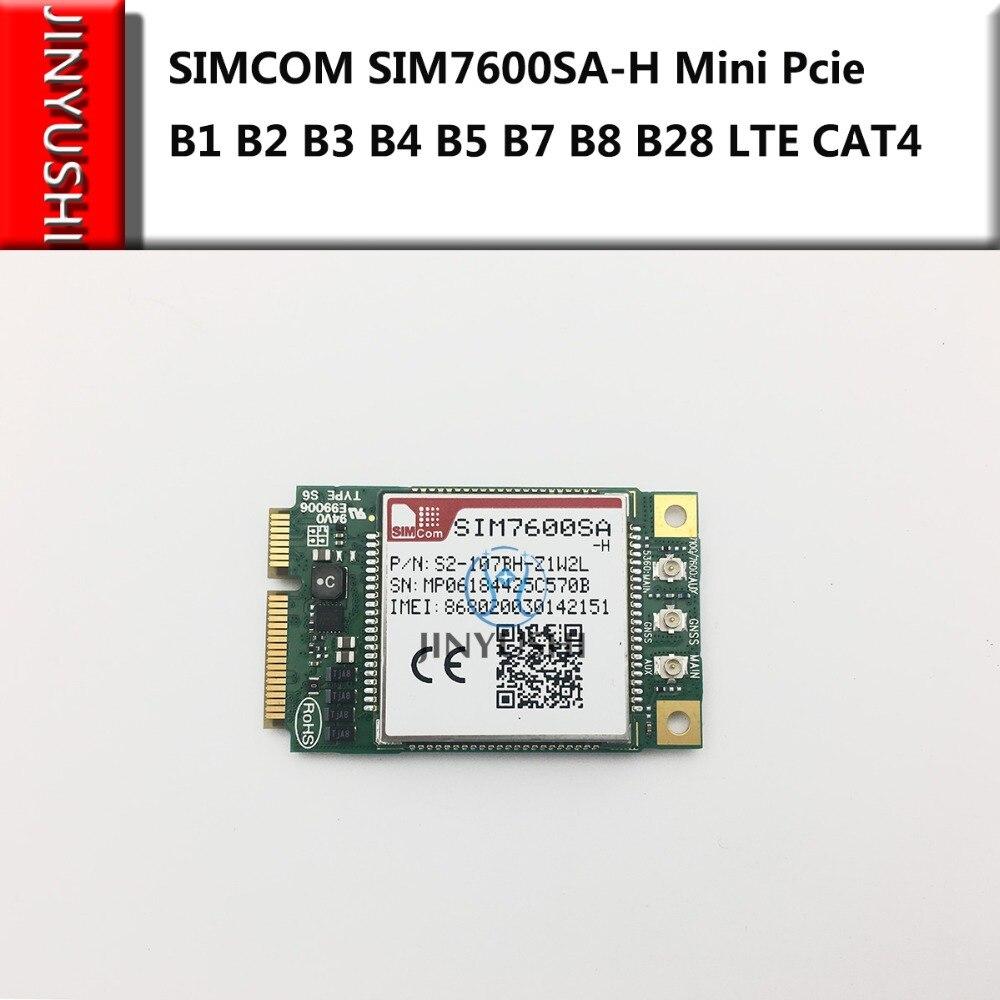JINYUSHI for SIMCOM SIM7600SA H MINI PCIE CAT4 B1 B2 B3 B4 B5 B7 B8 B28