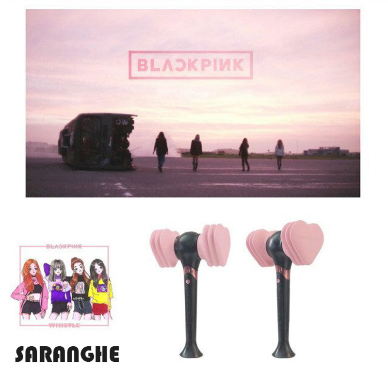 In Stock Official BLACKPINK BLINK BByong Kpop Stick Lamp 2018 Led Concert Lamp Hiphop Hoodies Lightstick