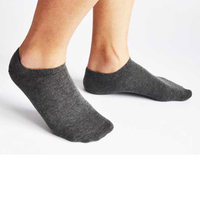 New 2019 Fashion Men Socks 9 11 Cotton Boat Towel Bottom Short Tube Concise T N134