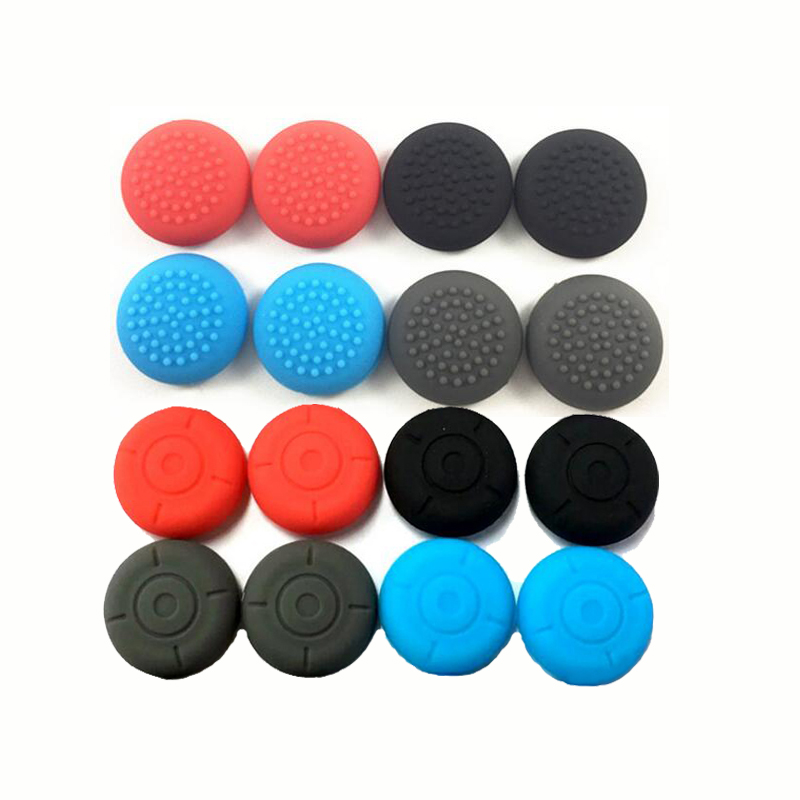 2 Silicone Thumb Stick Grip Cap Joypad Analog Joystick Cover Case For Nintend Switch Lite NS Mini Controllers Joy-Con ThumbStick