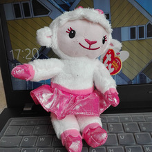 1PC 18CM TY BEANIE Babies Lambie lamb sheep Doc McStuffins doctor Original hang tag kids Toys Animal Plush Dolls Stuffed Animals