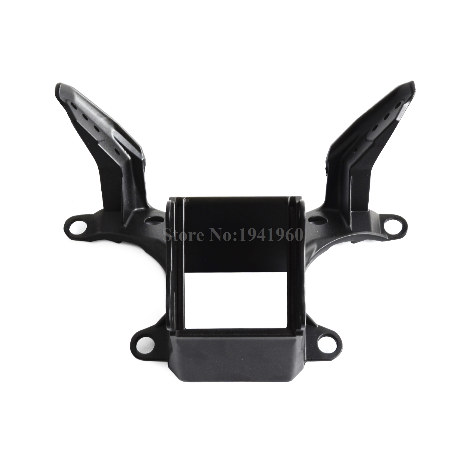 NICECNC Motorcycle Upper Headlight Fairing Stay Bracket For Yamaha YZF-R6 YZF R6 YZFR6 2008 2009 2010 2011 2012 2013 2014 Black motorcycle mounting bracket kit for yamaha fz1 fazer 2006 2015 2007 2008 2009 2010 2011 2012 2013 2014