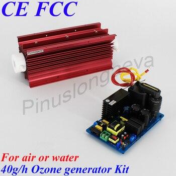 Pinuslongaeva 40 Гц/ч 40 грамм Подключите PLC или ORP контроллер 4-20mA 0-10 в 0-5 в регулируемый генератор озона для бассейна