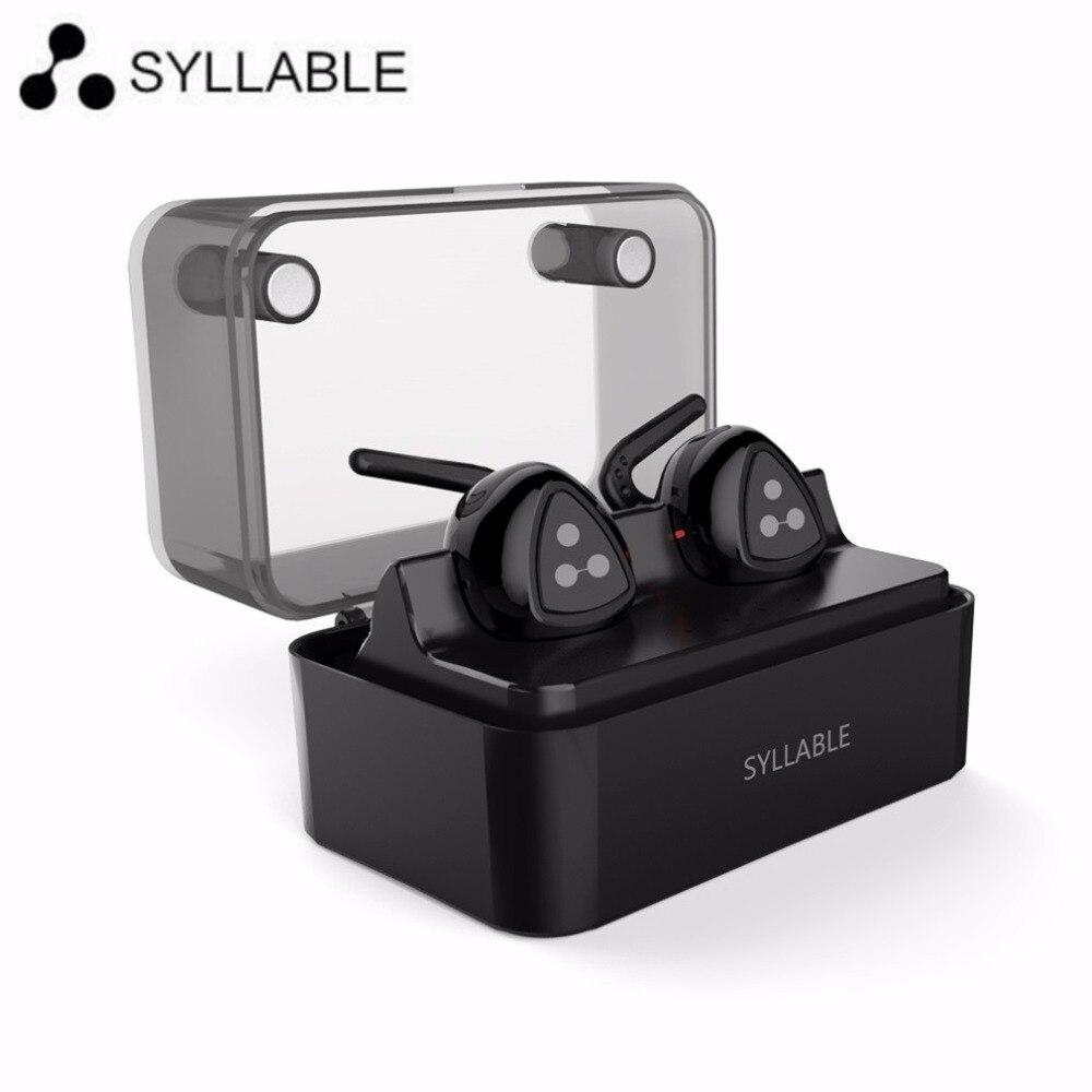 ФОТО Original Syllable D900MINI Wireless Bluetooth 4.1 Earphone Stereo Headset Handsfree Mini Earbud with Mic for iPhone 7