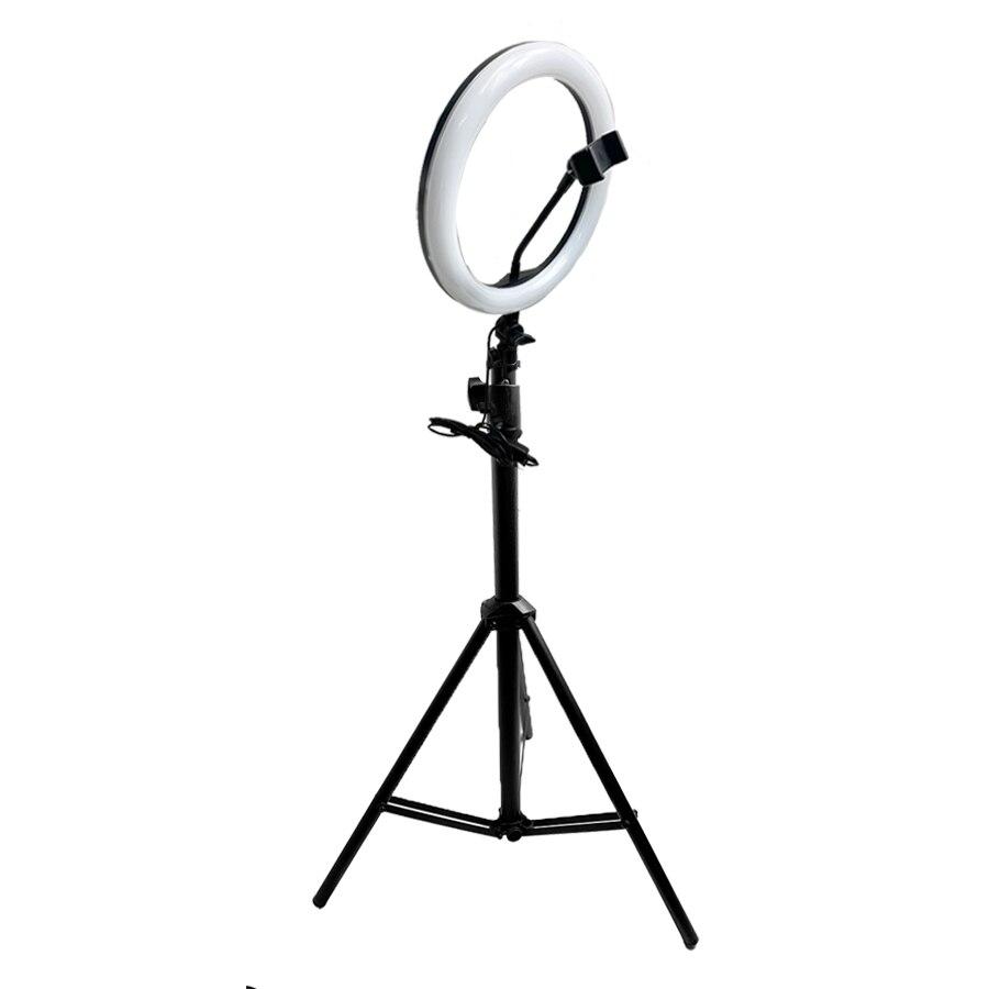 Phone Shooting Light Stand Photo 26CM/10 LED Beauty Ring Light Makeup Lamp Studio Photo tripod Kit Live Video Photography