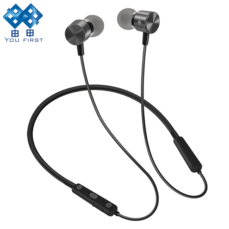 YOU FIRST Wireless Bluetooth Earphone Headphones Sport Running Bluetooth Headphones Wireless Stereo Headset With Microphone