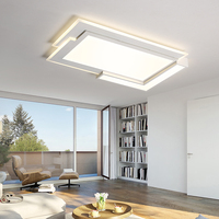 Acrylic Modern ceiling lights for living room bedroom White Simple Plafon led ceiling lamp home lighting fixtures AC85 260V