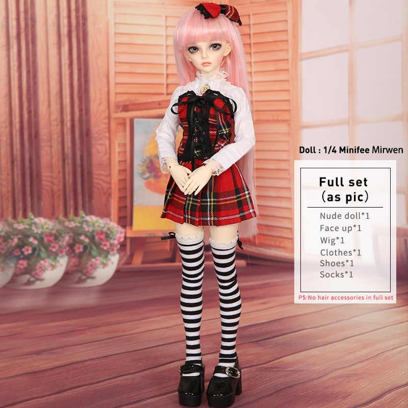 Märchenland Minifee Celine Rendia Chloe Mirwen Eva Rena Vollen Satz Paket Harz BJD Puppe Kit 1/4 MNF FL