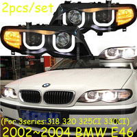 HID,2002~2004 Car Styling for BNW E46 Headlight,canbus ballast,E46 Fog lamp,318i,330i,335i;E46 head lamp