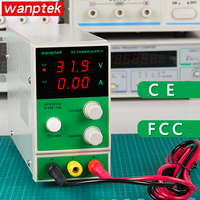 Power Supply Wanptek NPS3010D Mini Adjustable DC Power Supply 0 30V 0 10A Digital Voltage Regulator Laboratory Power Source