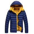 2017 Fashion Men's Jacket Men Winter Parkas Coat Brand Men's Clothing Slim DOWN COATS Thick Casual Thick jackets Male W0