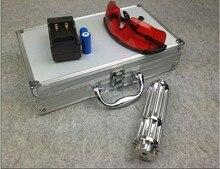 Best price High Power Blue Laser Pointer 50w 50000mw 450nm Lazer Flashlight Focus Burning Match/Dry Wood/Black/Burn Cigarettes+5 Caps+Gift