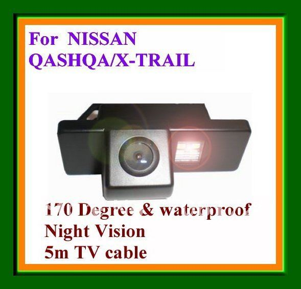 CCD HD Special Car Reversing Camera rearview camera for NISSAN QASHQAI NISSAN X TRAIL Geely KingKong