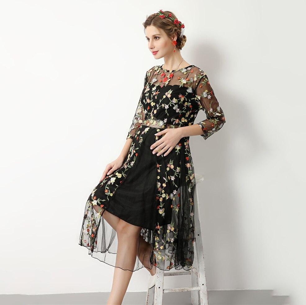 Melario платье для беременных 2018 для беременных Подставки для фотографий женская одежда платье для беременных Цветочная вышивка Лето Платье д...